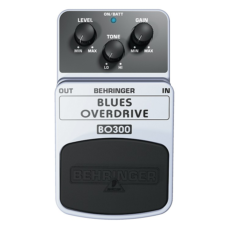 BehringerBlues Overdrive BO300 Guitar Effects Pedal