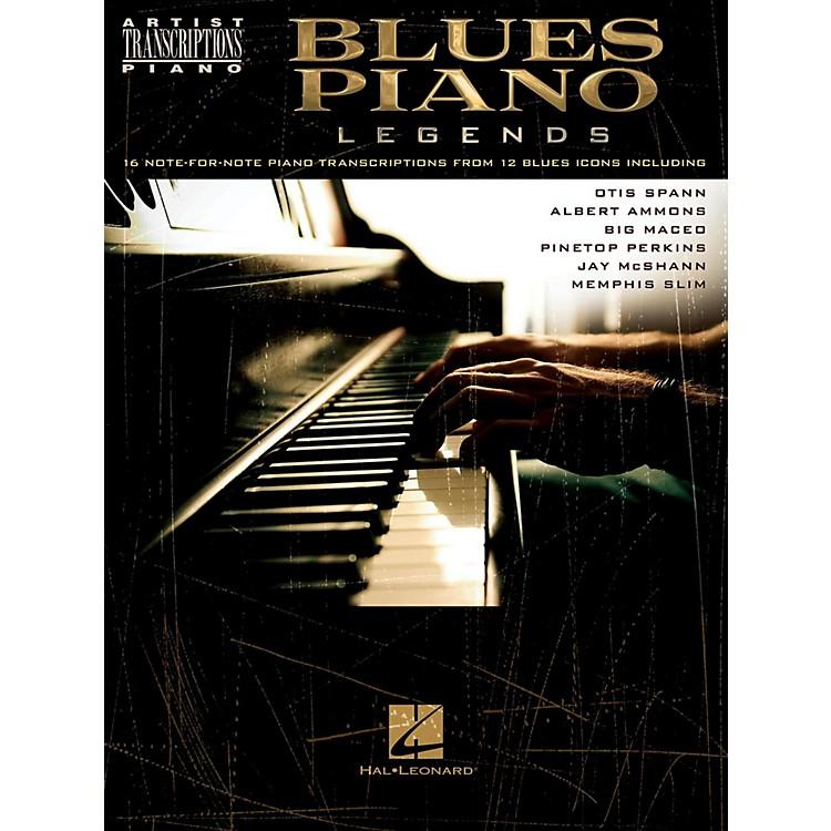 Hal LeonardBlues Piano Legends - Artist Transcriptions