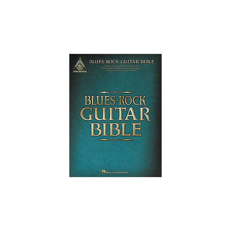 Hal Leonard Blues-Rock Guitar Bible Tab Book