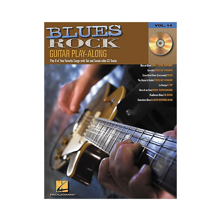 Hal Leonard Blues Rock Guitar Play-Along Series Book with CD