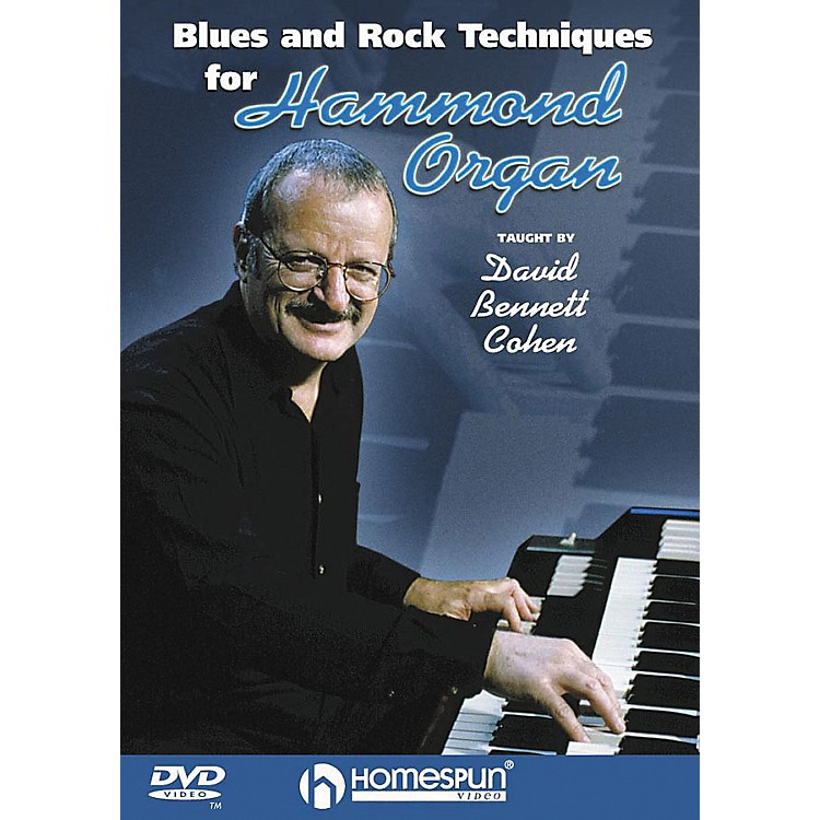 HomespunBlues & Rock Techniques for Hammond Organ (DVD)