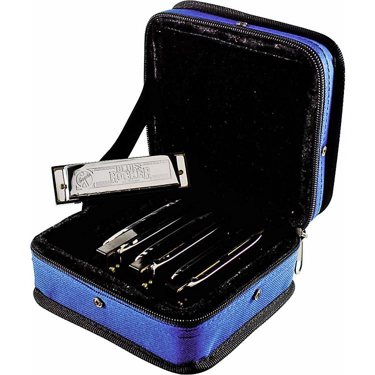 HohnerBlues Rocker Harmonica 4-Pack