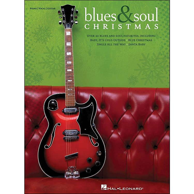 Hal Leonard Blues & Soul Christmas arranged for piano, vocal, and guitar (P/V/G)