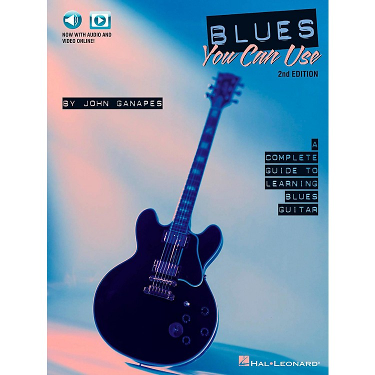 Hal LeonardBlues You Can Use - 2nd Edition Book/Audio/Video Online