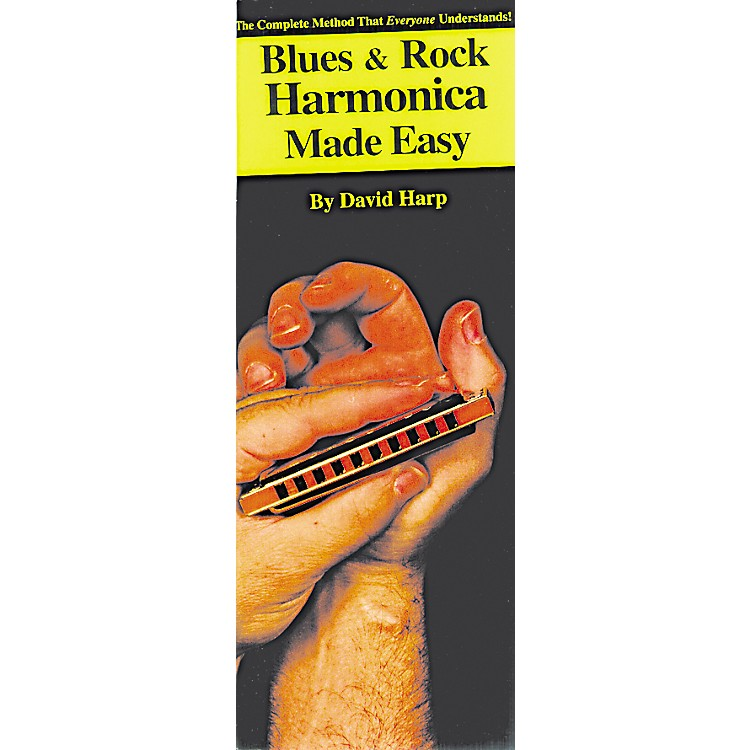 Music Sales Blues and Rock Harmonica Made Easy Compact Reference Book