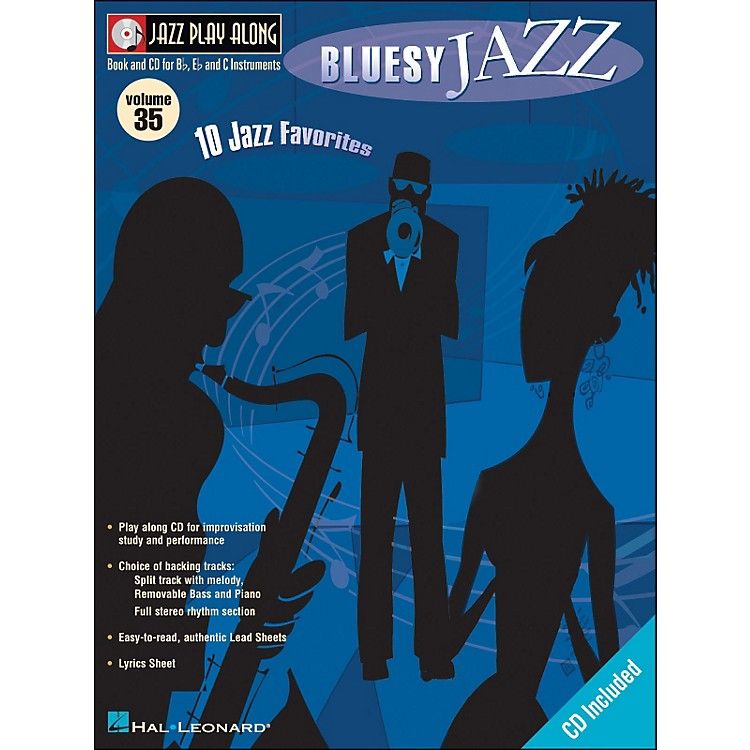 Hal Leonard Bluesy Jazz Volume 35 Book/CD Jazz Play Along