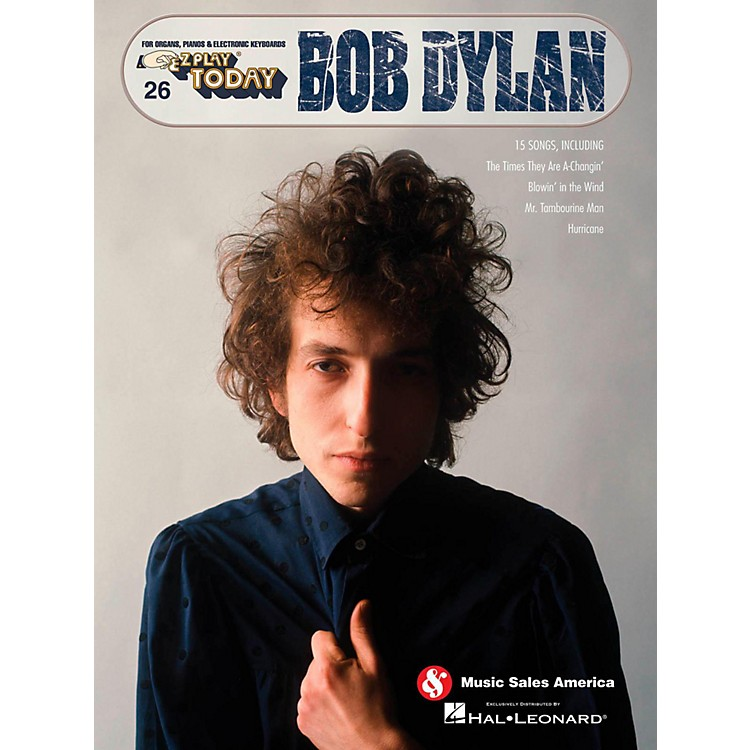Music Sales Bob Dylan E-Z Play Today #26