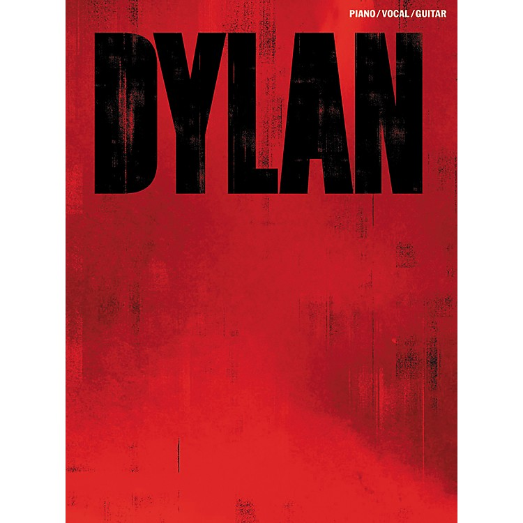 Music SalesBob Dylan Red Piano, Vocal, & Guitar Songbook