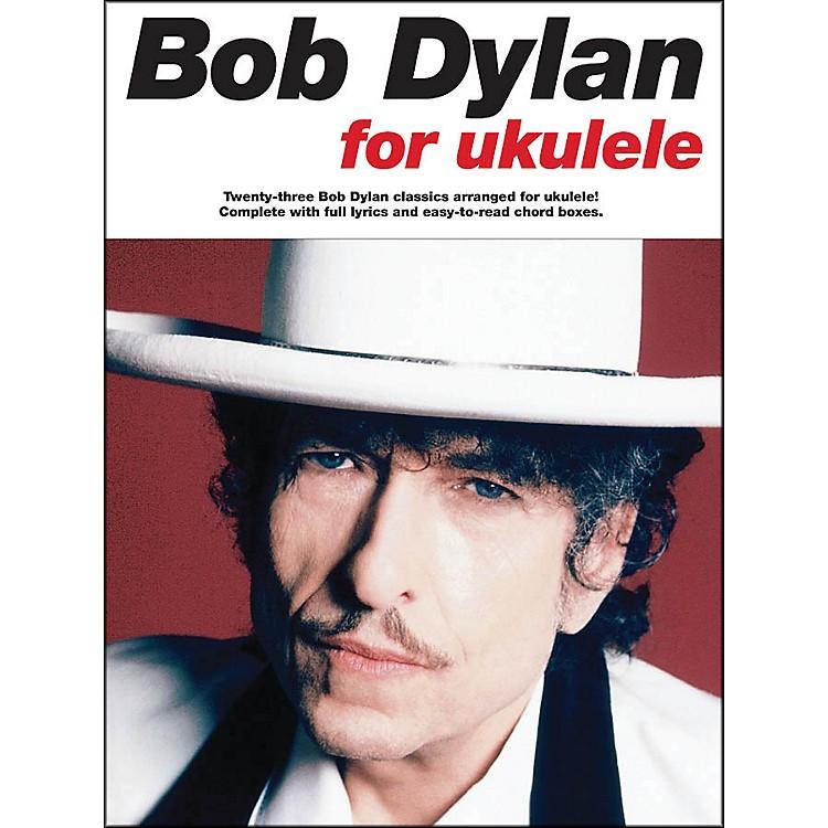 Music SalesBob Dylan for Ukulele Songbook