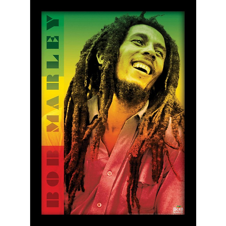 Ace Framing Bob Marley - Colors 24x36 Poster