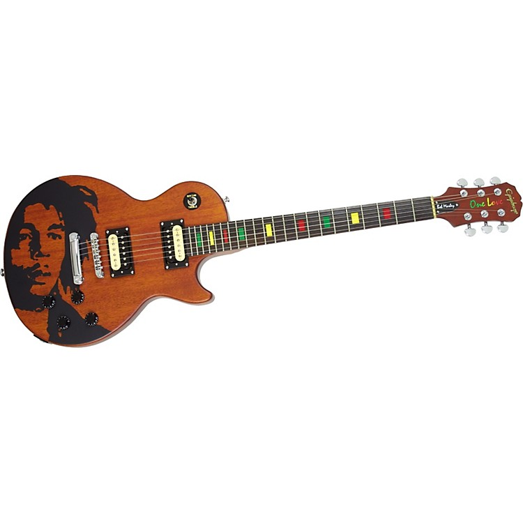epiphone bob marley limited edition les paul special electric guitar music123. Black Bedroom Furniture Sets. Home Design Ideas