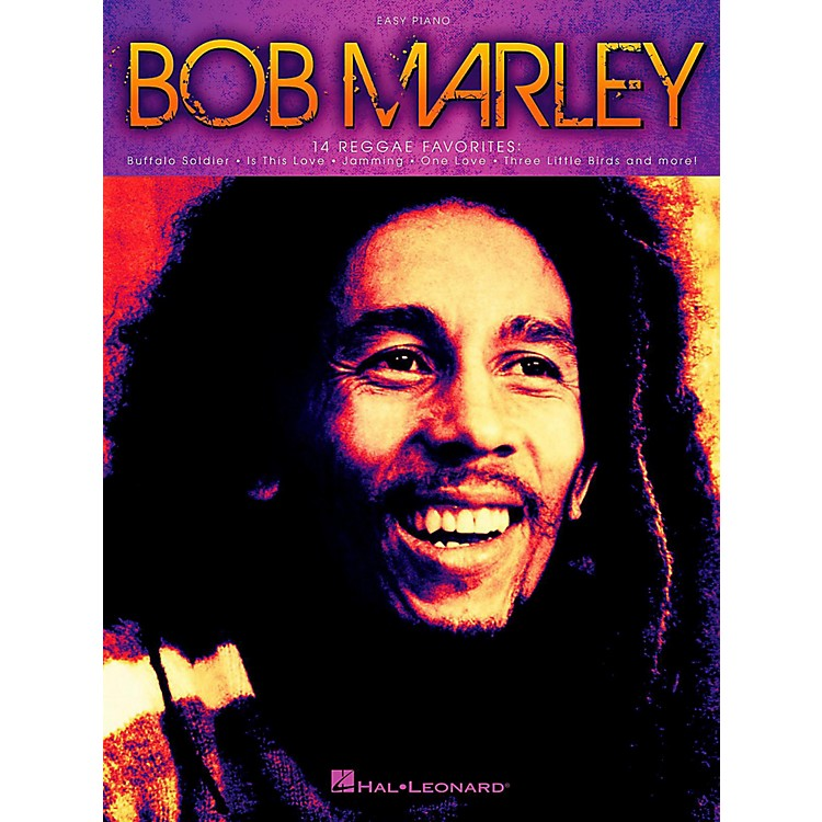 Hal Leonard Bob Marley for Easy Piano