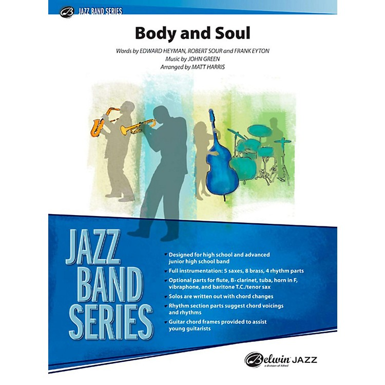 Alfred Body and Soul Jazz Band Grade 3