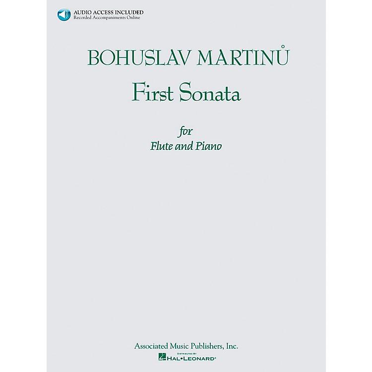 AssociatedBohuslav Martinu First Sonata for Flute and Piano Book/CD
