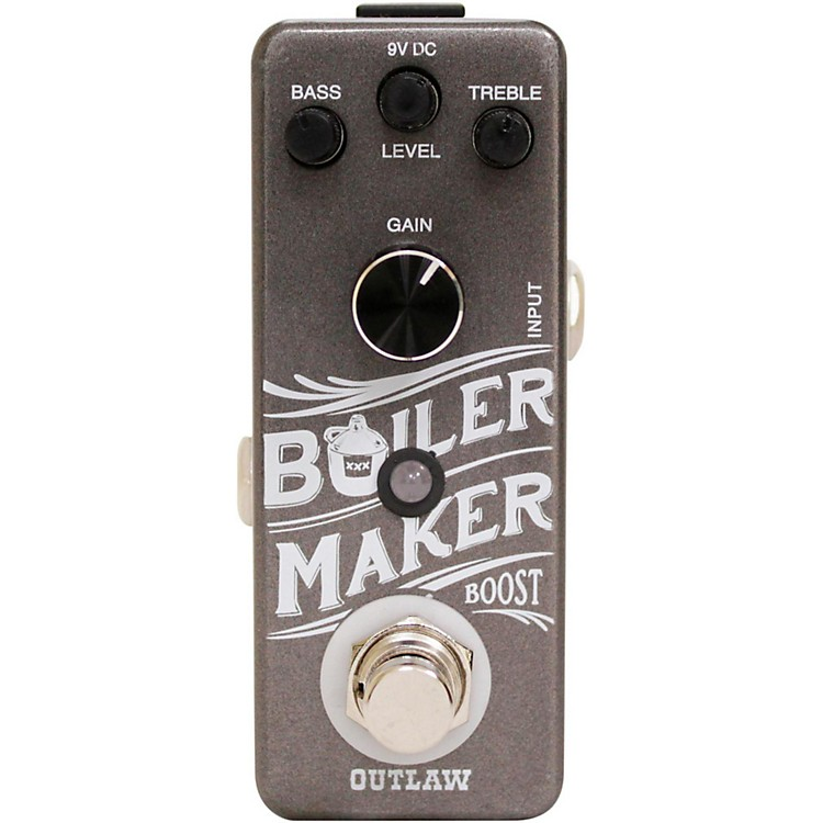Outlaw EffectsBoilermaker Clean Boost Guitar Effects Pedal