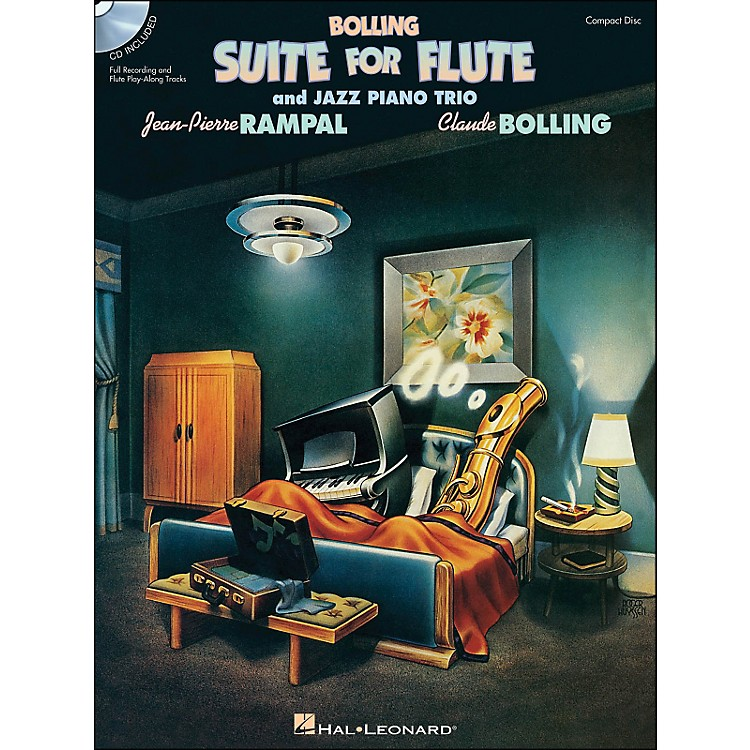 Hal Leonard Bolling Suite for Flute & Jazz Piano Trio Book Companion CD