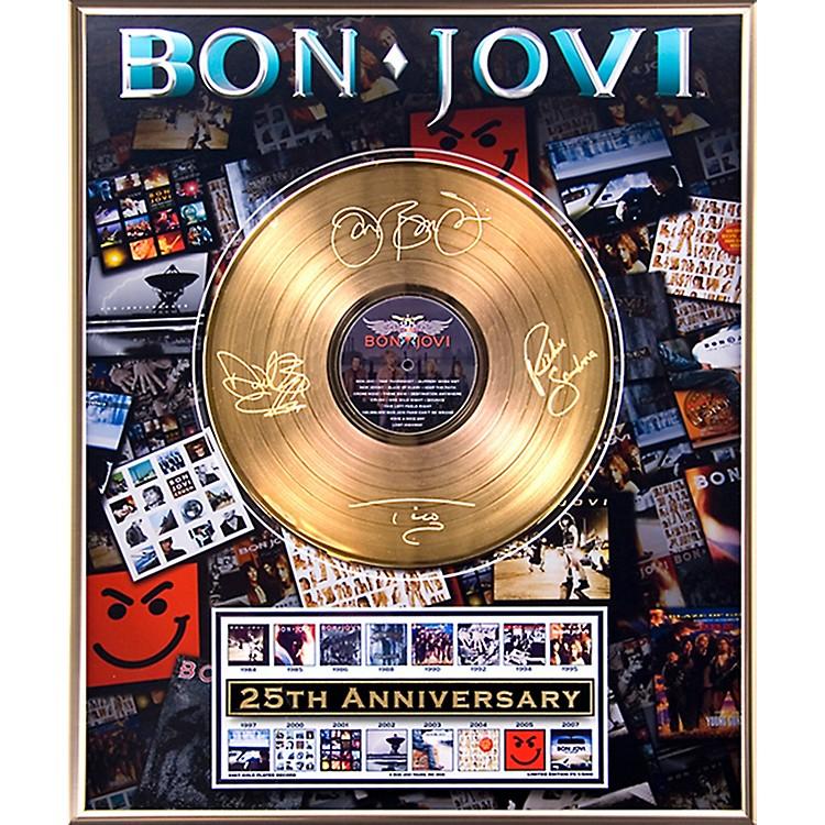 24 Kt. Gold RecordsBon Jovi - 25th Anniversary Gold LP Limited Edition of 5000