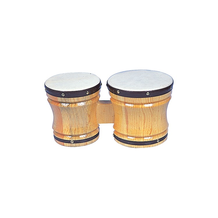 Rhythm Band Bongos Large 6-1/2 in. H x 5-1/2 in.