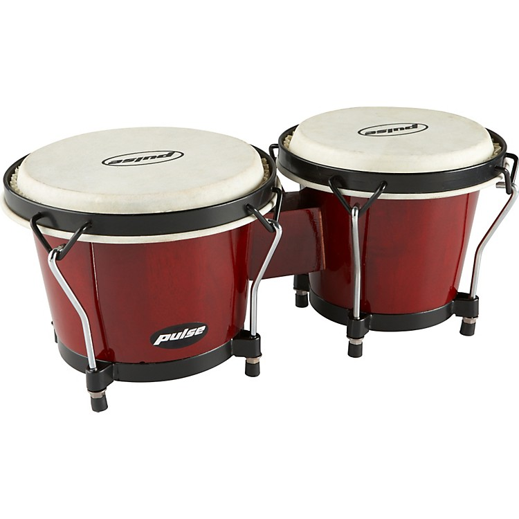 Pulse Bongos Wine Red