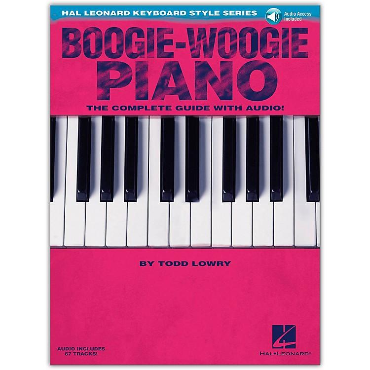 Hal LeonardBoogie-Woogie Piano  The Complete Guide Book/CD from Hal Leonard Keyboard Style Series
