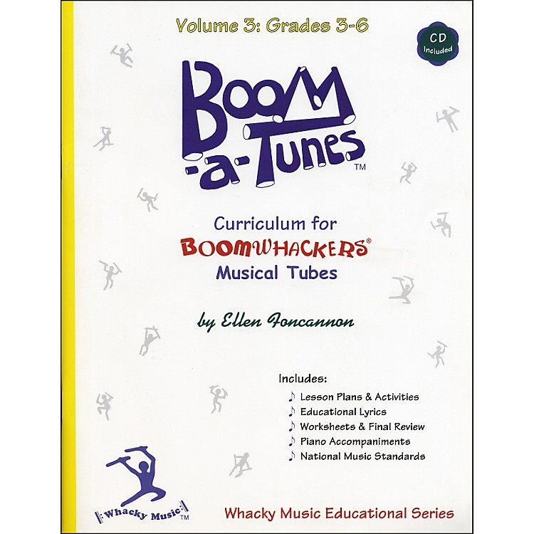 BoomwhackersBoom-A-Tunes Curriculum Volume 3 (Book/CD)