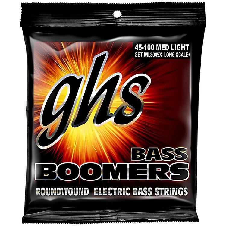 GHSBoomers Long Scale Plus Medium Light Bass Guitar Strings