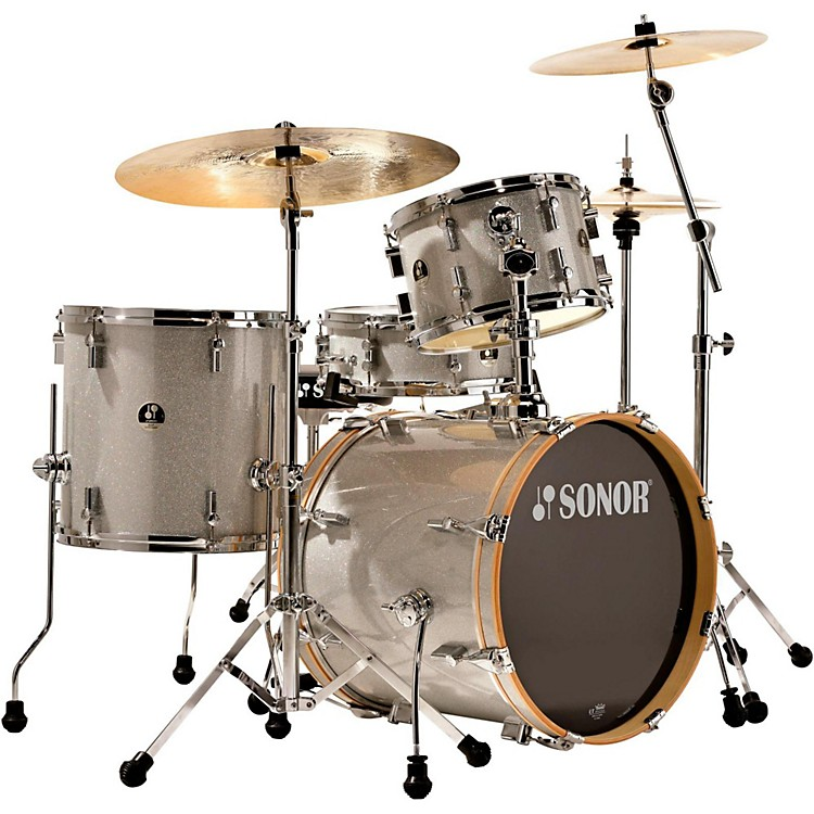 Sonor Bop 4-Piece Shell Pack Silver Galaxy Sparkle