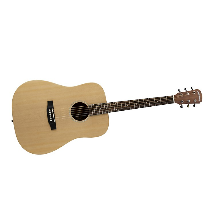 Bedell Born Hippie Dreadnought Acoustic Guitar Natural Matte