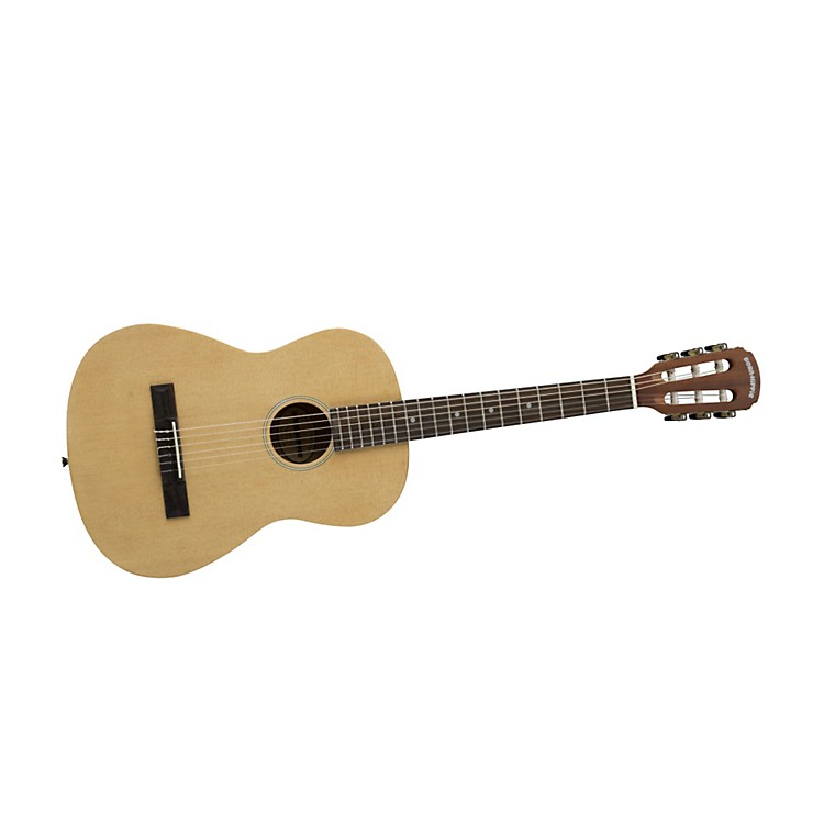Bedell Born Hippie Student Nylon Acoustic Guitar Natural