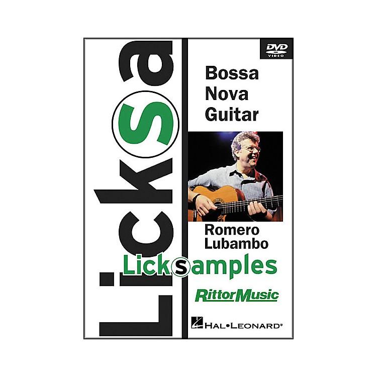 Hal LeonardBossa Nova Guitar Licksamples (DVD)