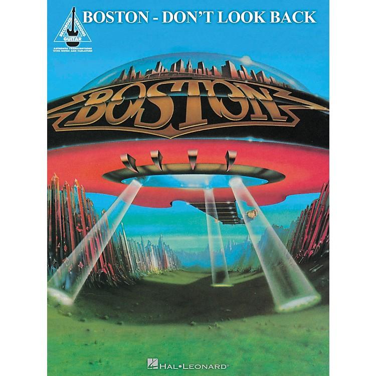 Hal LeonardBoston - Don't Look Back Guitar Recorded Version Songbook