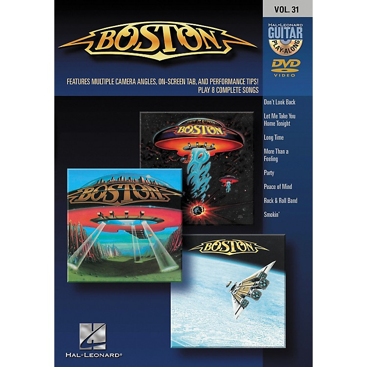 Hal Leonard Boston - Guitar Play-Along DVD Volume 31