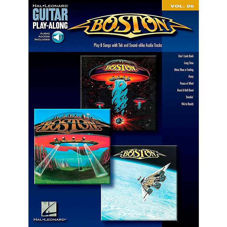 Hal Leonard Boston - Guitar Play-Along Series, Volume 86 (Book/CD)