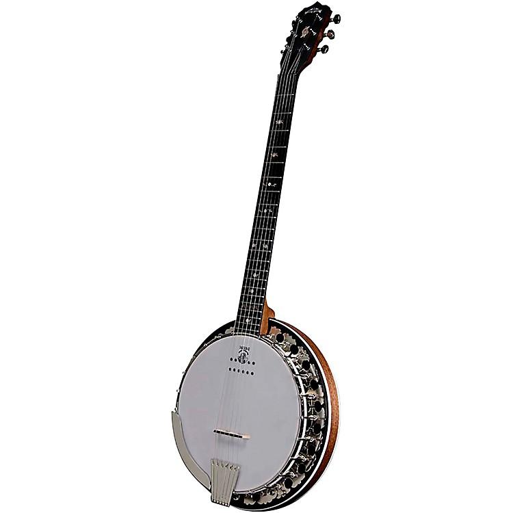 DeeringBoston 6-String Acoustic-Electric Banjo