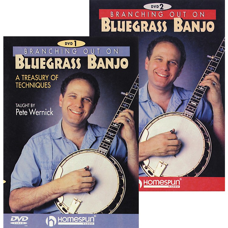 Homespun Branching Out On Bluegrass Banjo 2-DVD Set