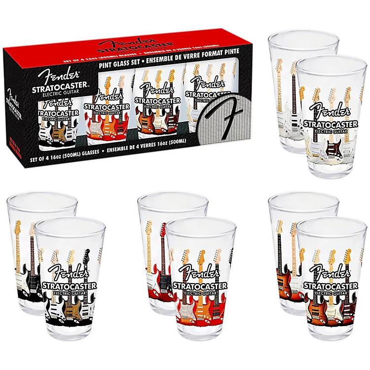 FenderBranded Pint Glasses (Set of 4)