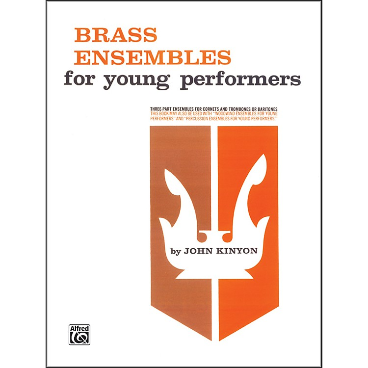 Alfred Brass Ensembles for Young Performers 2 Cornets Trombone