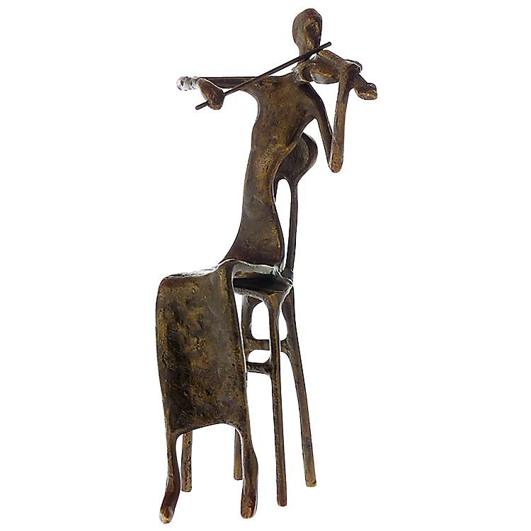 AIMBrass Female Violinist Figurine