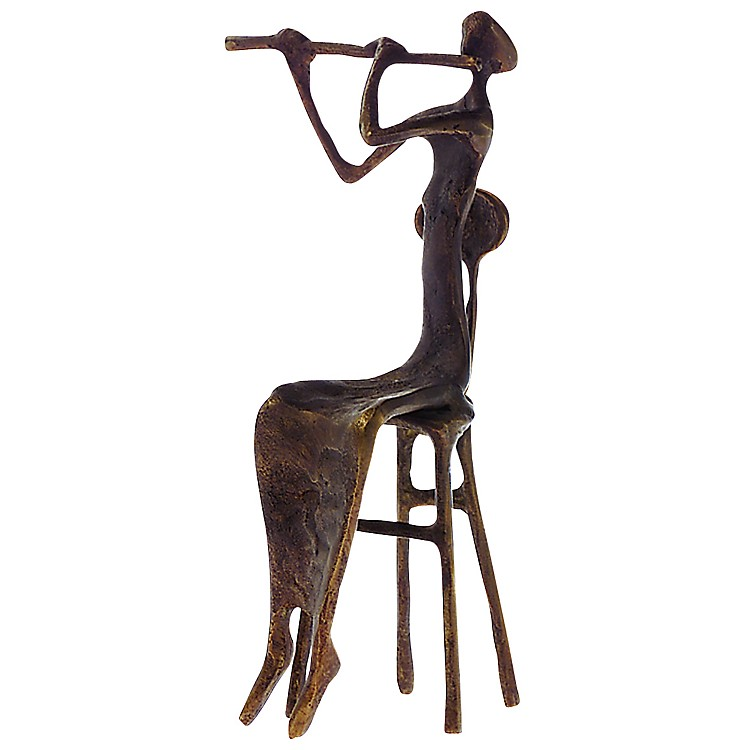 AIM Brass Flutist Figurine
