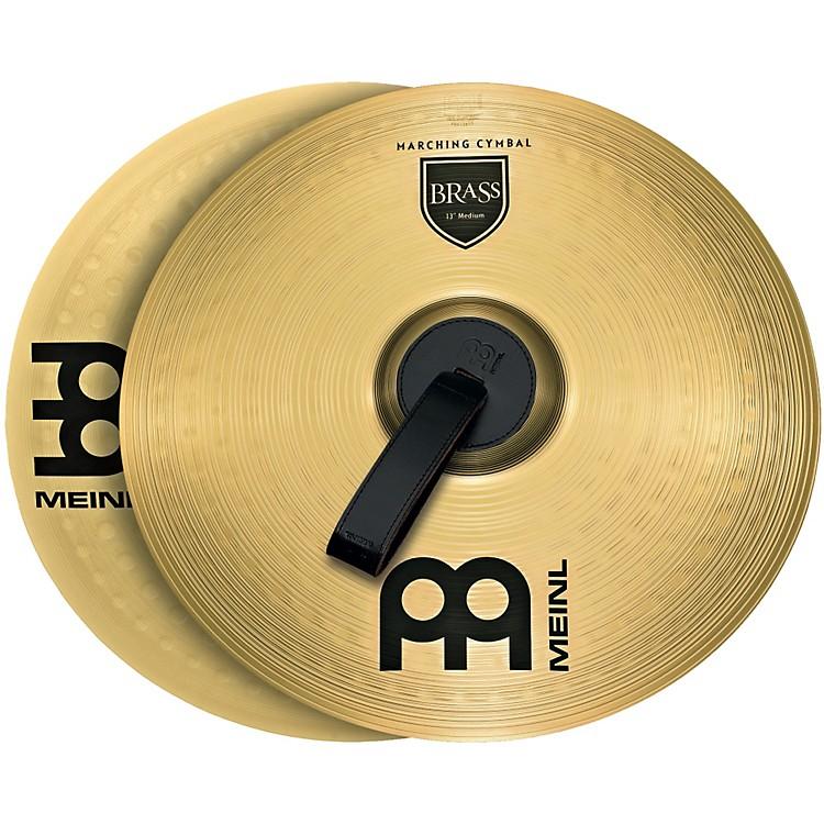 MeinlBrass Marching Medium Cymbal Pair13 in.