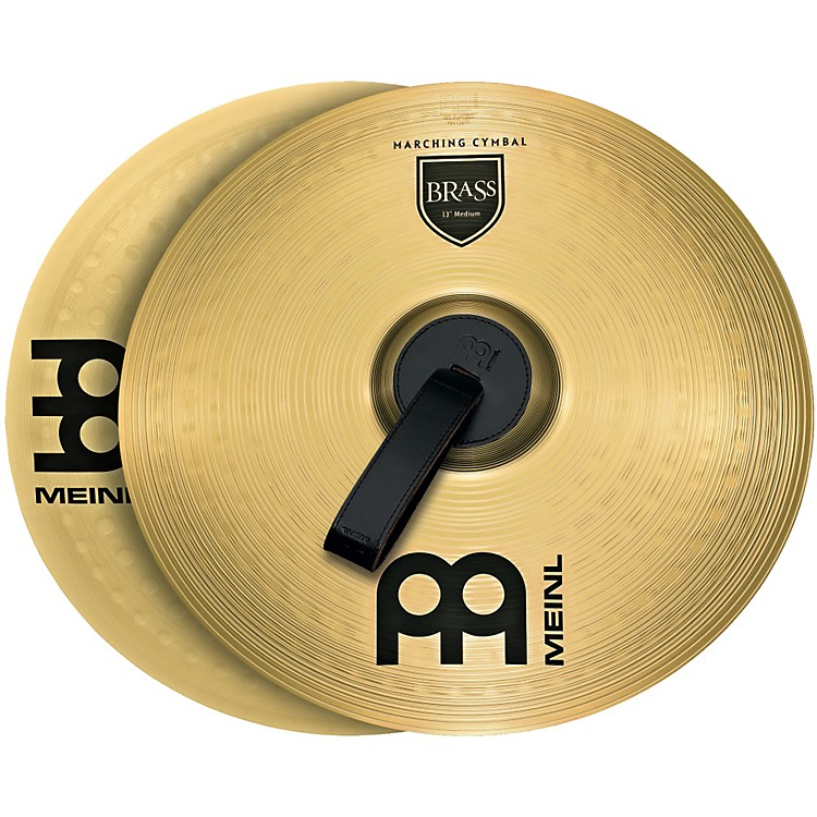 MeinlBrass Marching Medium Cymbal Pair
