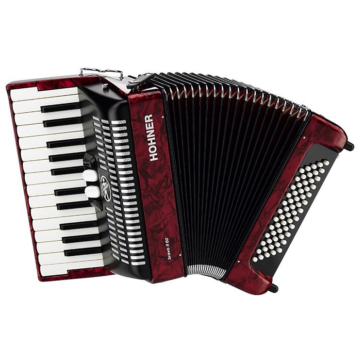 HohnerBravo Piano Accordion 60 Bass