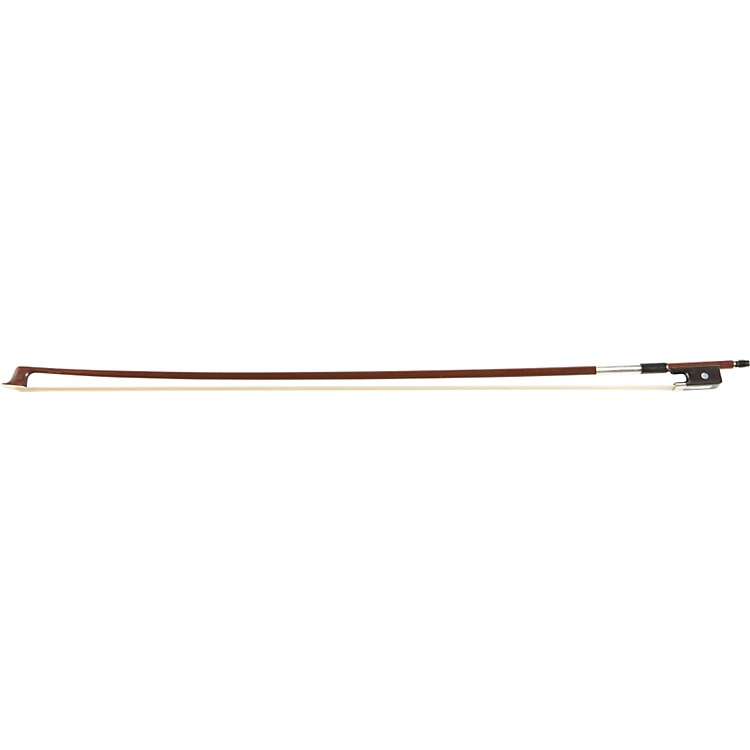 Georg Werner Brazilwood Round Viola Bow - 4/4 Single Eye 1/2 lined