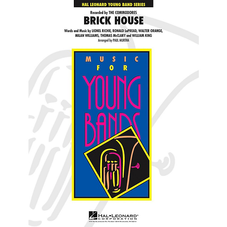 Hal Leonard Brick House - Young Concert Band Level 3