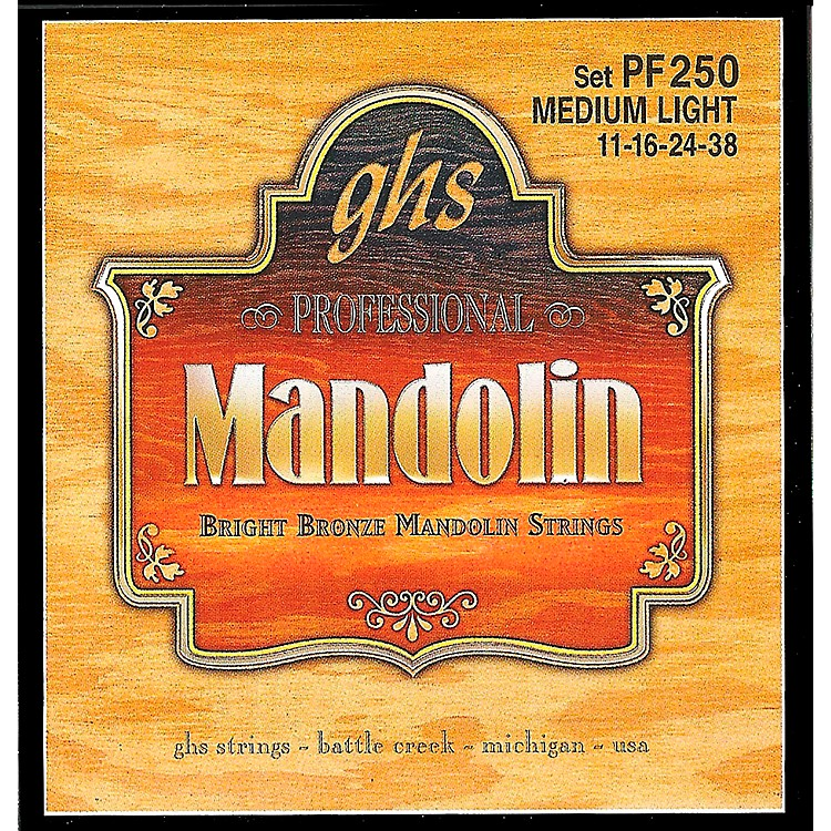 GHS Bright Bronze Mandolin Strings Medium Light