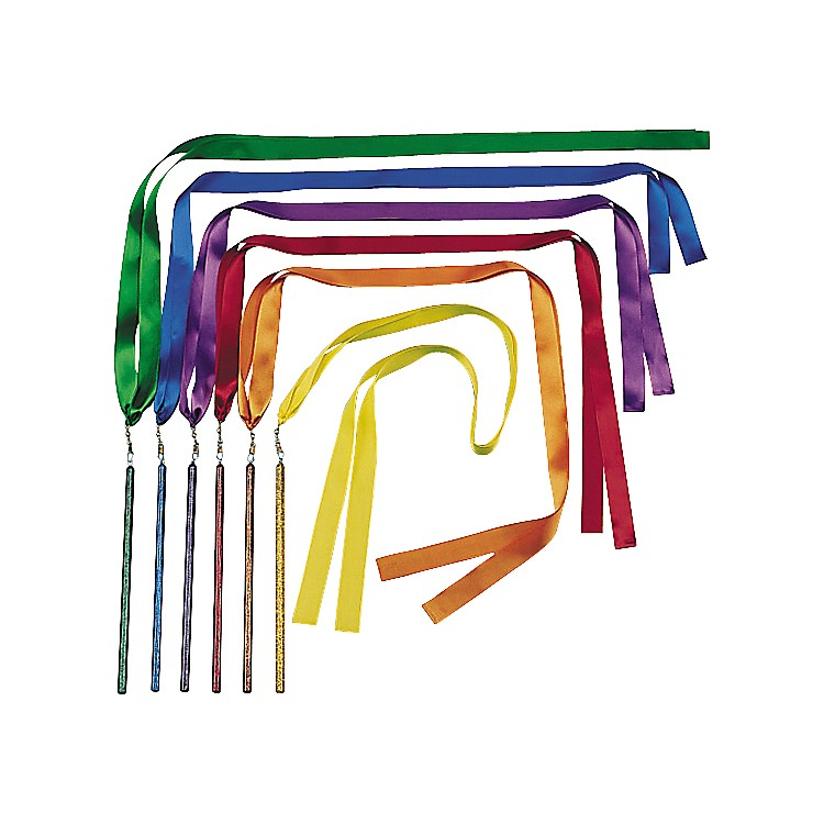 KSP Bright Color Ribbon Wands  72 in.