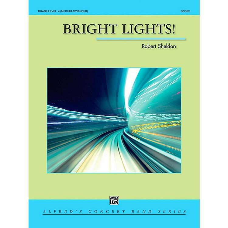 AlfredBright Lights! Concert Band Grade 4 (Medium Advanced)