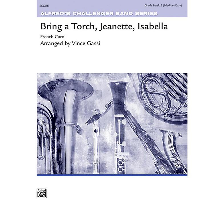AlfredBring a Torch, Jeanette, Isabella Concert Band Grade 2