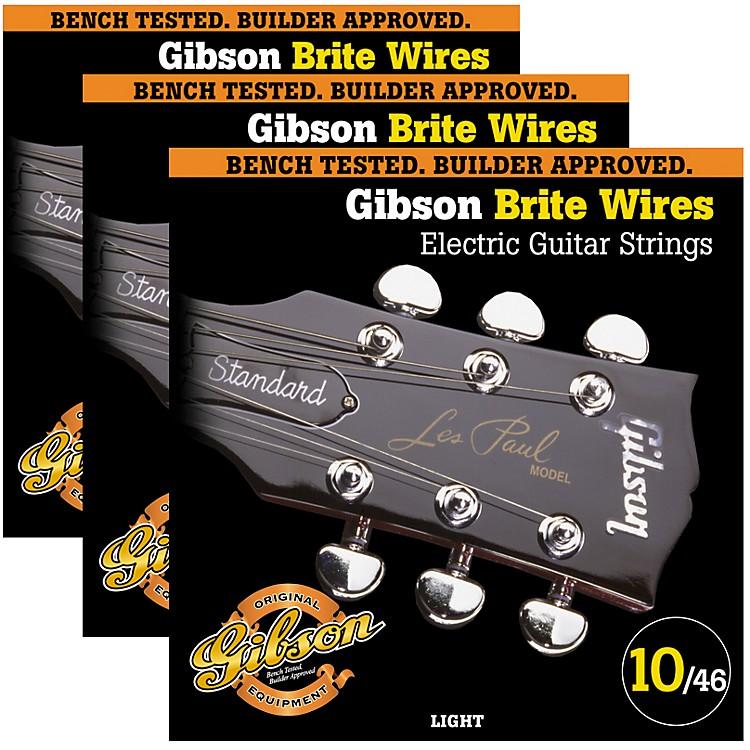 GibsonBrite Wires Light Guitar Strings