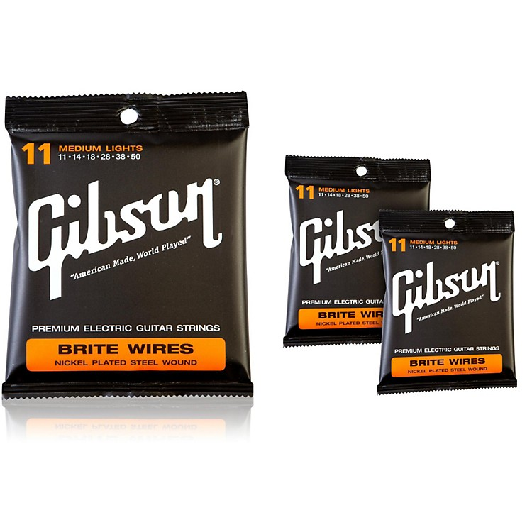 Gibson Brite Wires Medium Electric Guitar Strings